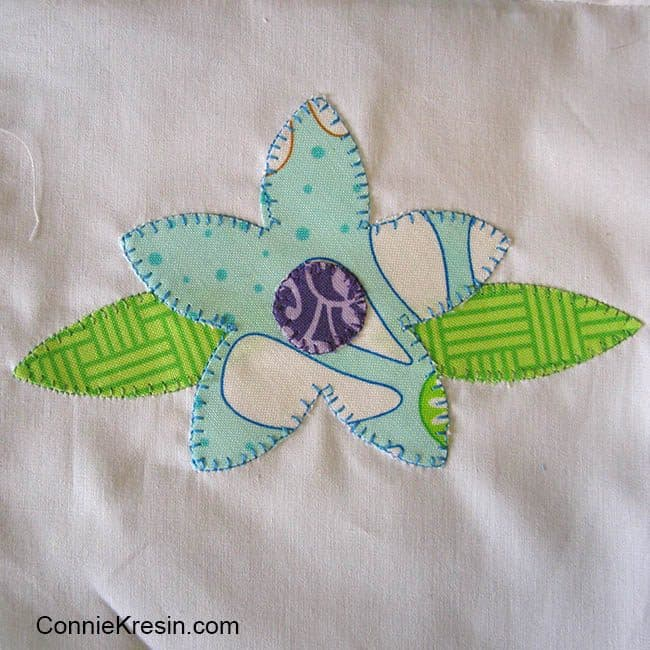 AccuQuilt Flower Bunch applique