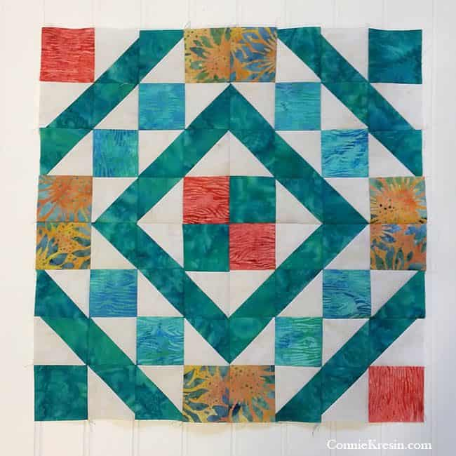 Diamond Maze 4 quilt Blocks