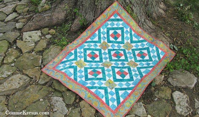 Diamond Maze quilt pattern