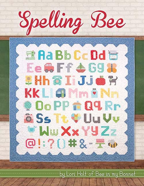 Spelling Bee Sew Along Book
