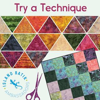 Island Batik Challenge Try a Technique