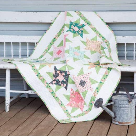 Twirling Petals free pattern