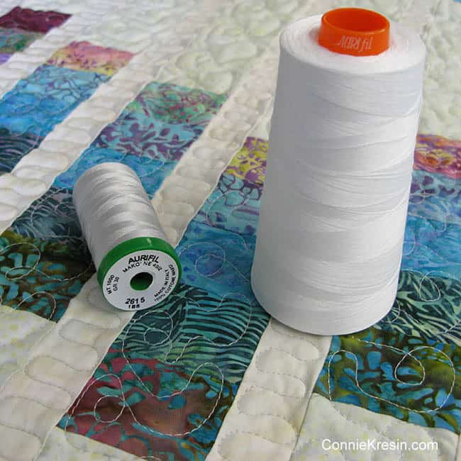 Aurifil 40wt thread