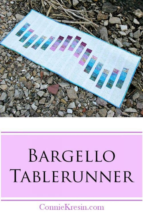 Bargello Quilted Table Runner Tutorial