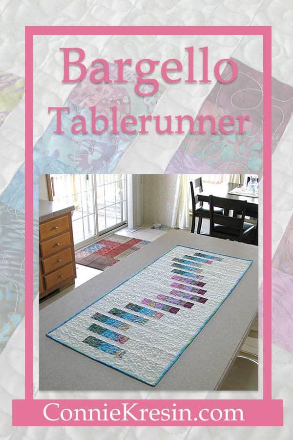 Bargello tablerunner quick tutorial