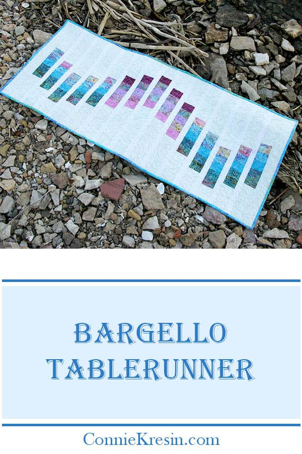 Bargello quilted tablerunner tutorial