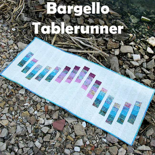 Bargello runner tutorial
