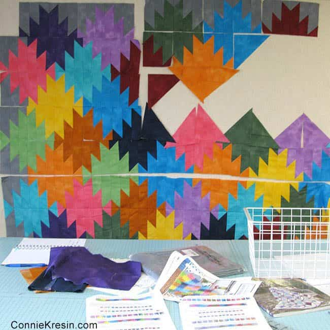 Mountain Reflection quilt