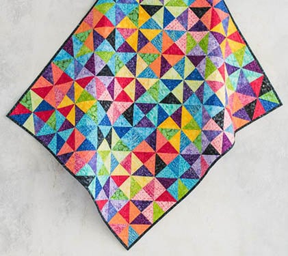 Give It a Whirl Quilt Kit