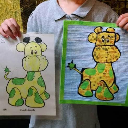 Julie Children Art