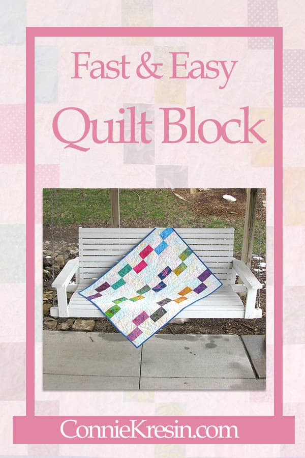 Painted Window Quilt Block Tutorial