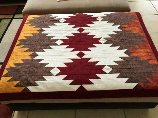 Ottoman quilt