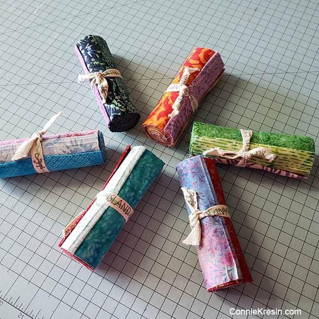 Island Batik 5 inch strip bundles