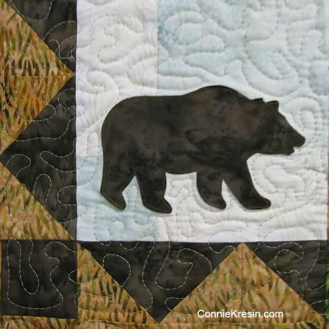 AccuQuilt GO! Northwoods Bear die