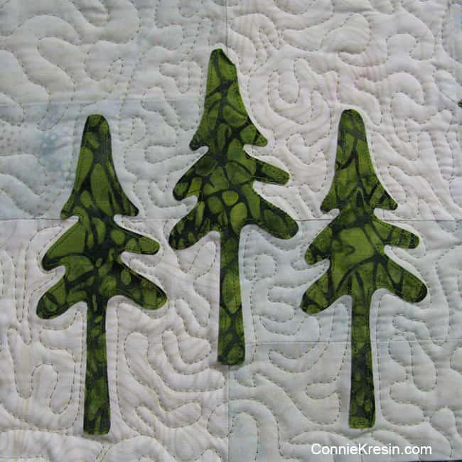 AccuQuilt GO! Northwoods Pine Trees