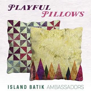 Island Batik Ambassador Playful Pillows