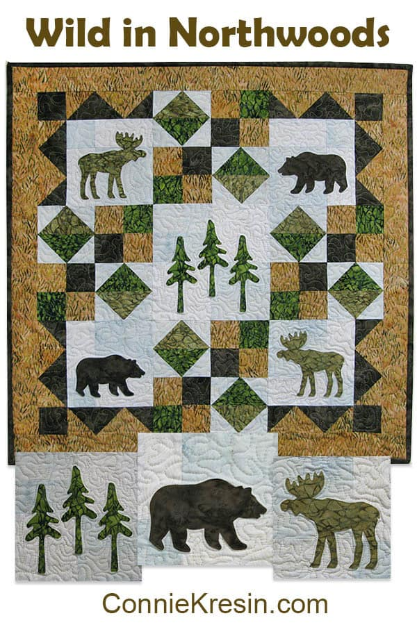 Wild in Northwoods Free Pattern