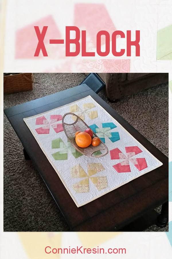X-Block Table Runner #xblocks #basiX #xblocksbasixtool #xblocksfun