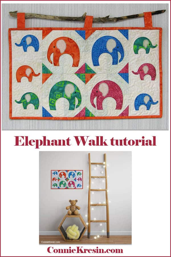 Elephant Walk Wall hanging