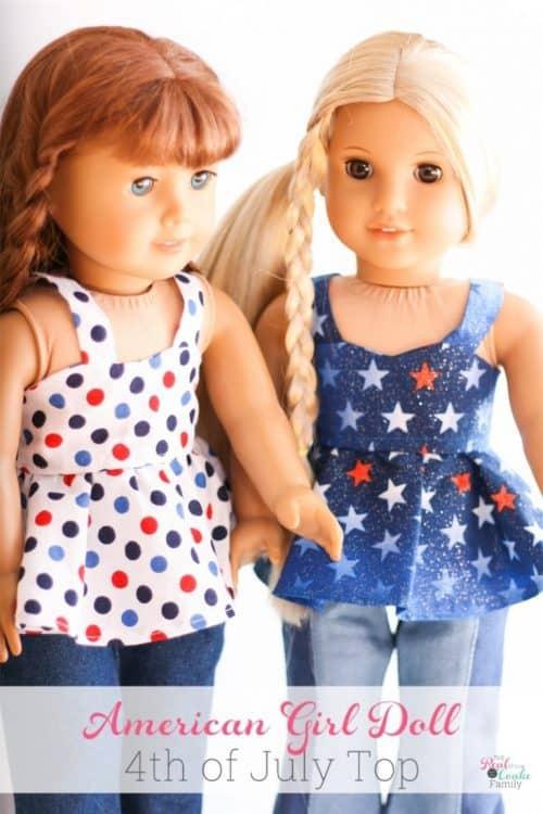 Free American Girl doll pattern