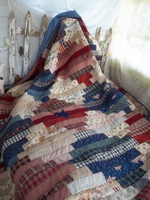 Free tutorial for a patriotic quilt