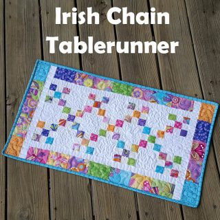 Irish Chain Tablerunner tutorial