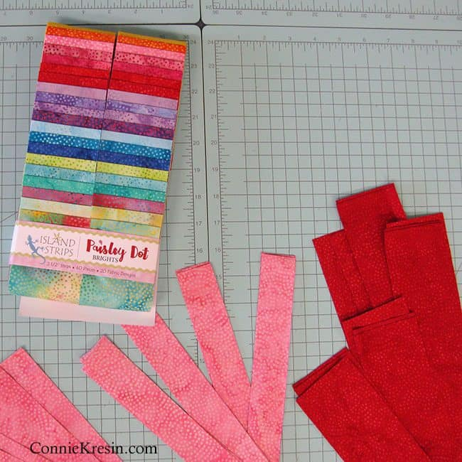 Island Batik Paisley Dot Brights fabrics