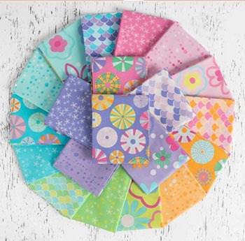 Lily Loom Candy Splash quilt fabrics