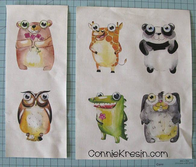 Print out the cute animals inkjet printer