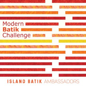 Island Batik Ambassador modern batik challenge