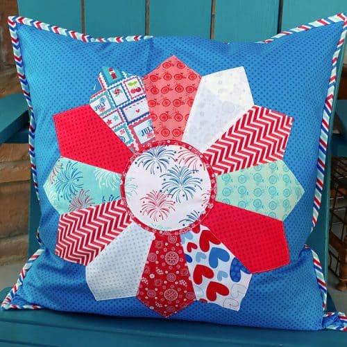 Patriotic Dresden Pillow