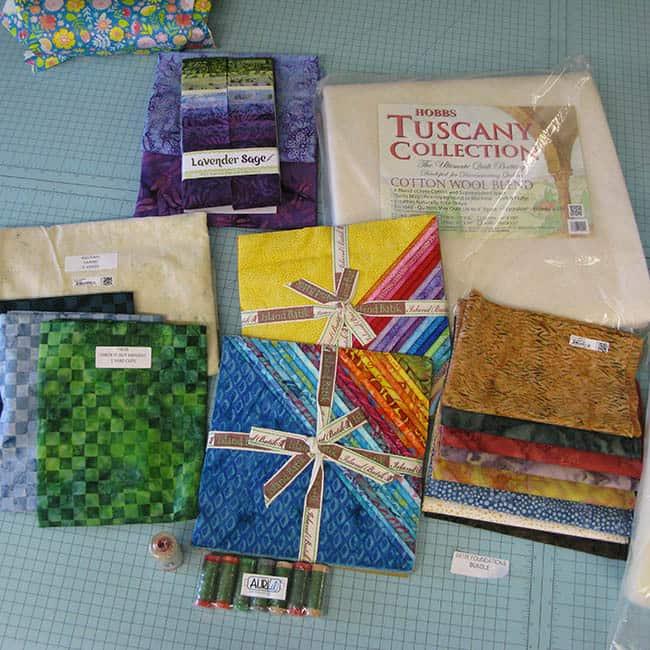 Island Batik Ambassador Fabric-2nd box batting thread fabric
