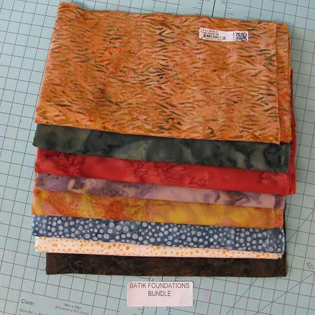 Island Batik Ambassador Fabric-2nd box basic batiks