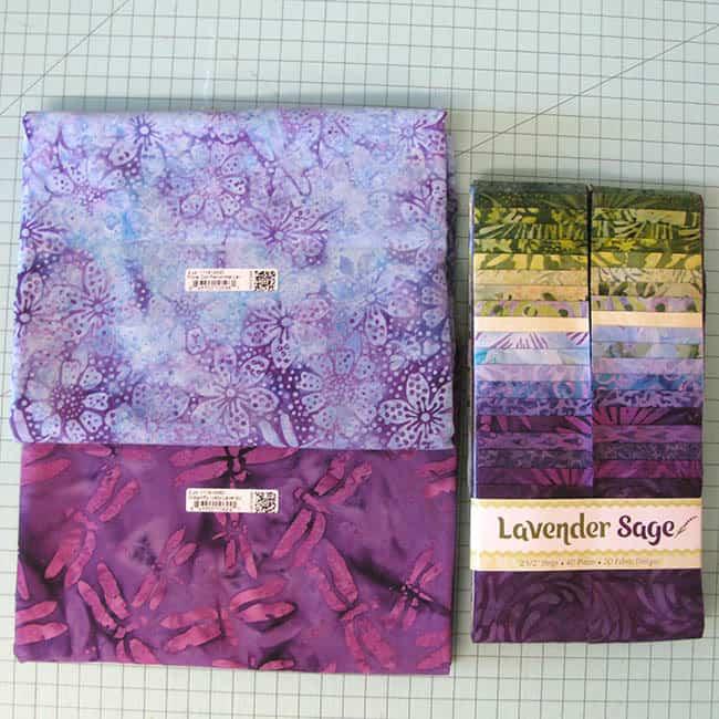 Island Batik Ambassador Box Lavender Sage Strips