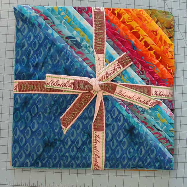 Island batik Ambassador Stack of Ocean Odyssey quilt fabric