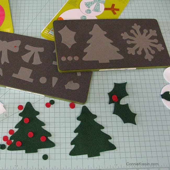 Wool Rayon Felt used for Christmas Tree