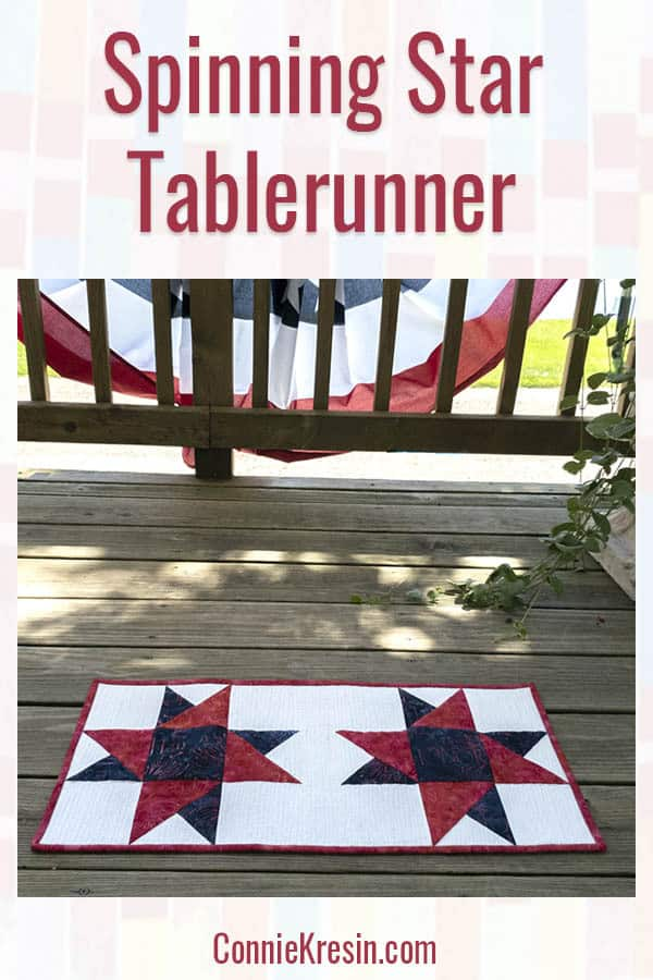 Spinning Star Tablerunner