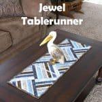Jewel tablerunner tutorial