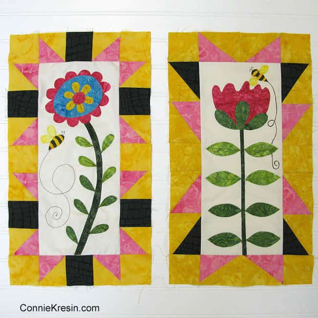 Save the Bees BOM with free quilt patterns join us