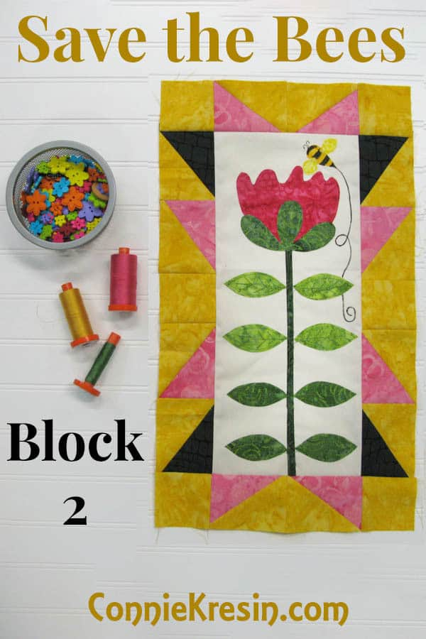 Save the Bees BOM block 2