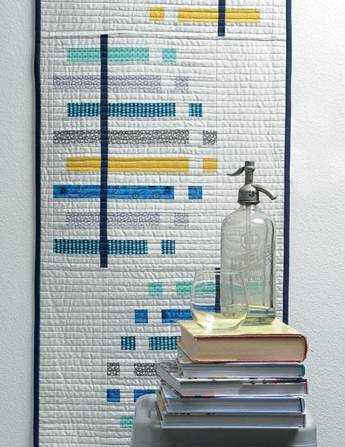 13 Quilted Projects to Spice Up Your Table tablerunner