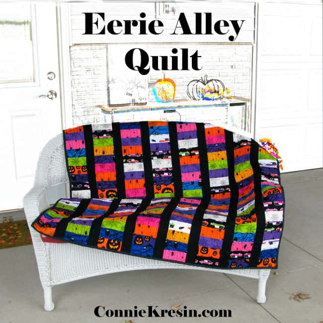 Eerie Alley Quilt Tutorial