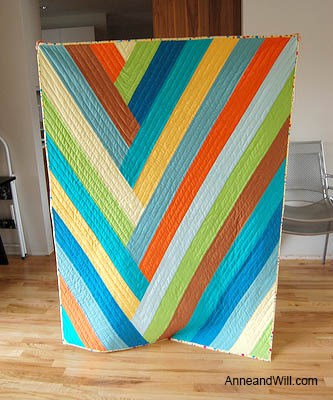 Braided Strip quilt tutorial