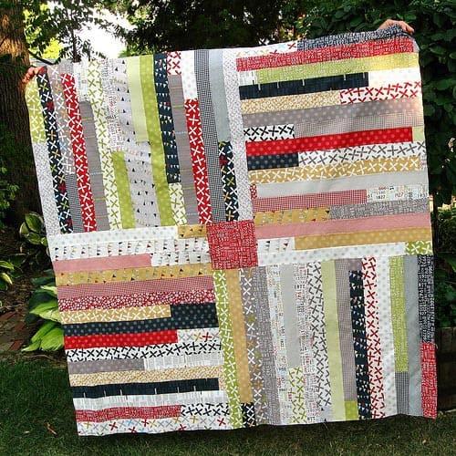 Four Corners quilt tutorial
