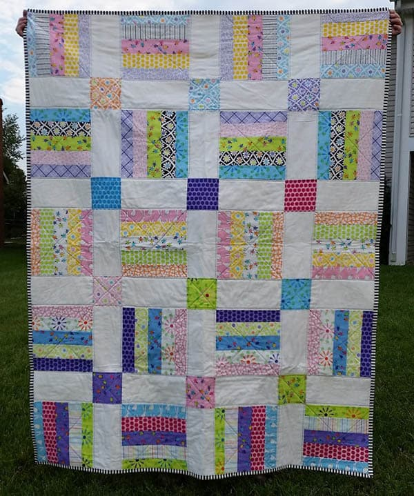 Jelly Roll Magic quilt