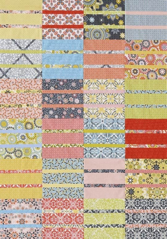 Stacked Baby quilt