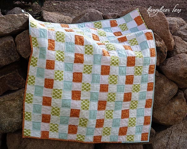 Basket weave quilt tutorial
