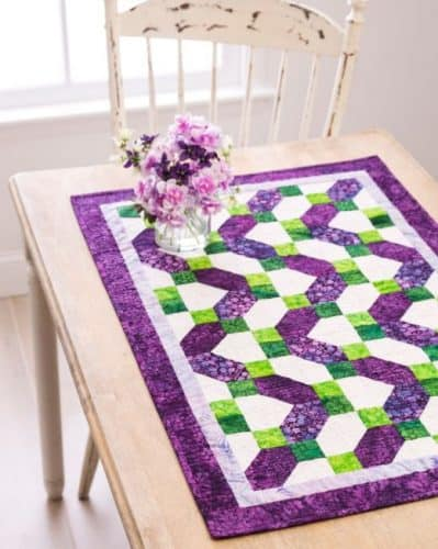 Ziggy Zag Tablerunner pattern
