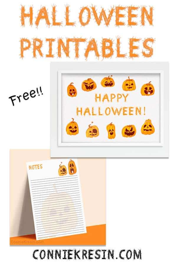 Halloween free printables you can download