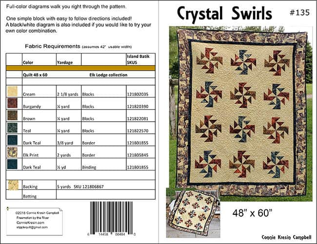 Crystal Swirls Cover information